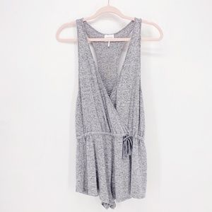 Out from Under Surplice Sleeveless Romper